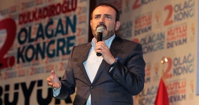 AK Parti sözcüsü Mahir Ünal: 'Onlar bu ülkeye ihanet ediyor'