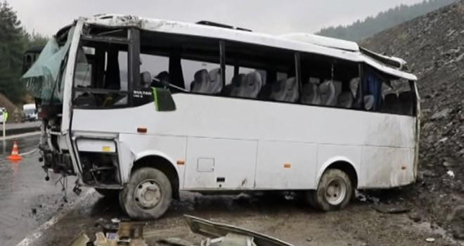 Kahramanmaraş'ta askeri araç kaza yaptı ! Çok sayıda askerimiz yaralı