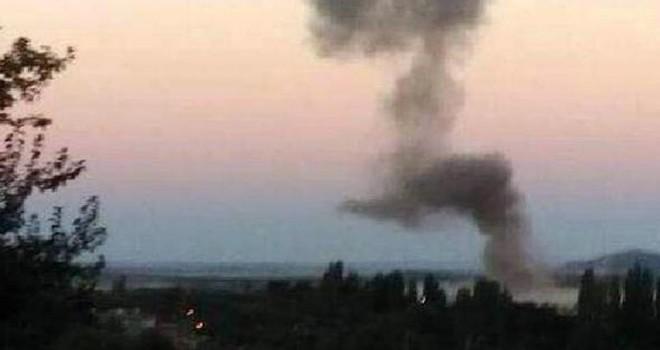 Karakola bombalı araçla intihar saldırısı