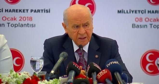 Bahçeli açıkladı: MHP, Cumhurbaşkanlığı adayı göstermeyecek