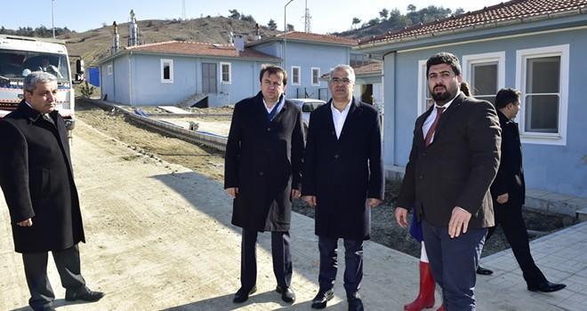 Kardeş şehrin başkanı Kahramanmaraş'ta
