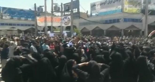 İran' da protesto! Ölü ve yaralılar var