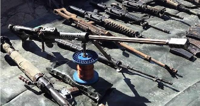 Şırnak'ta METİS tanksavar füzesi ele geçirildi