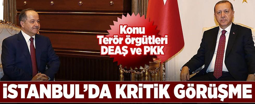 Cumhurbaşkanı Erdoğan pazar günü Barzani'yi kabul edecek