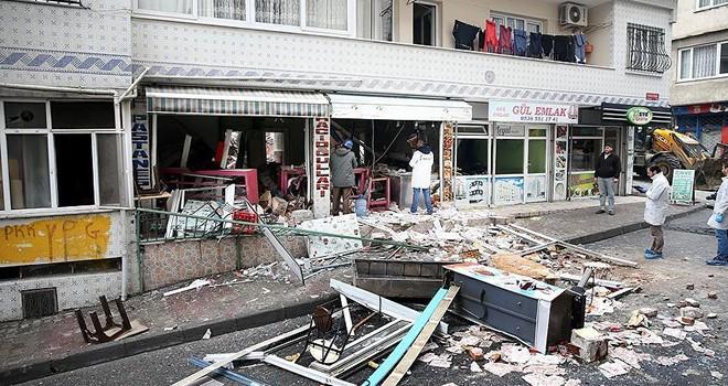 İstanbul'da doğalgaz patlaması: 7 yaralı