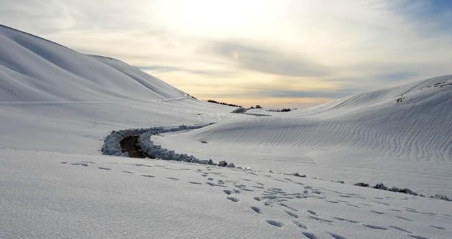Kış turizminin yeni adresi Yedikuyular Kayak Merkezi