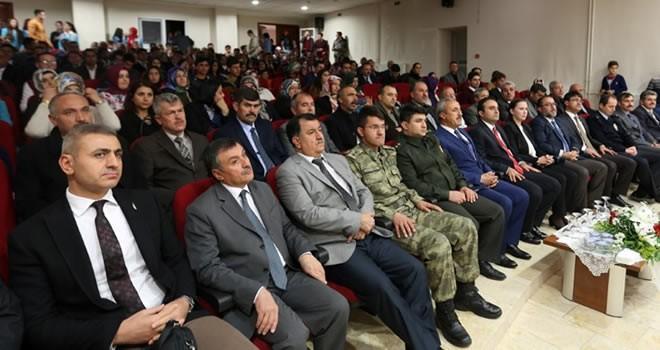 Afşin'de 24 Kasım öğretmenler günü...