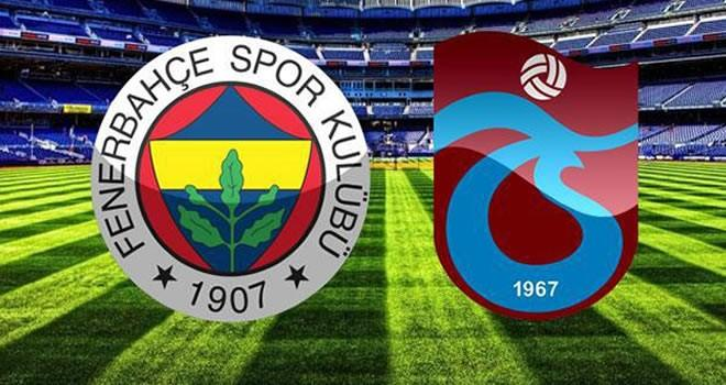 Fenerbahçe 2-2 Trabzonspor derbi sonucu