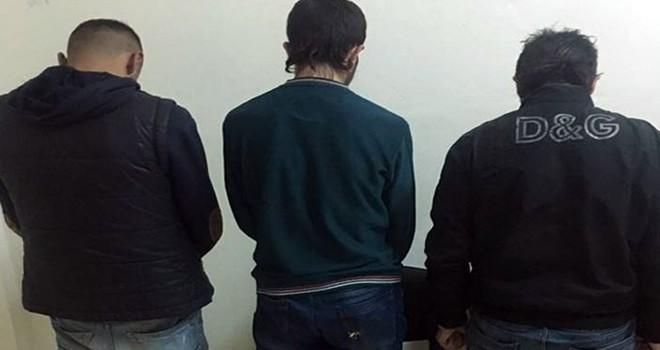 Gaziantep'te 3 kişi gasp suçundan tutuklandı