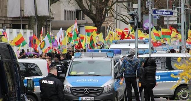 Terör sevici Almanya polisinden skandal PKK mesajı