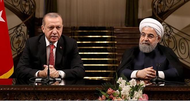Erdoğan ve Ruhani'den kritik açıklama! Bölgedeki dengeleri değiştirecek hamle
