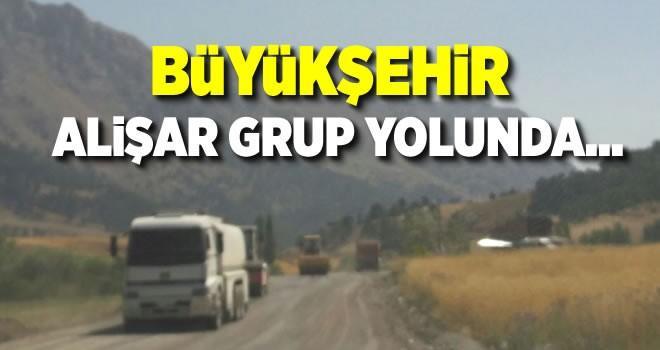 Büyükşehir Alişar Grup yolunda…