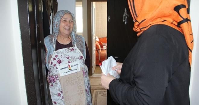Onikişubat Belediyesi ev hanımlarının yüzünü güldürdü