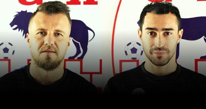 Kahramanmaraşspor'da Mesut ve Kemal ile yollar ayrıldı
