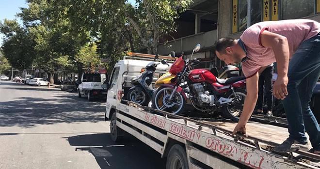 Kahramanmaraş'ta motorculara ceza yağdı