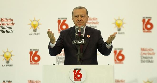 Cumhurbaşkanı Erdoğan: İktidar olmak istiyoran çalışacaksın