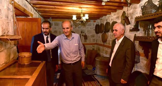 AK Partili Kaya'dan mutfak müzesine ziyaret