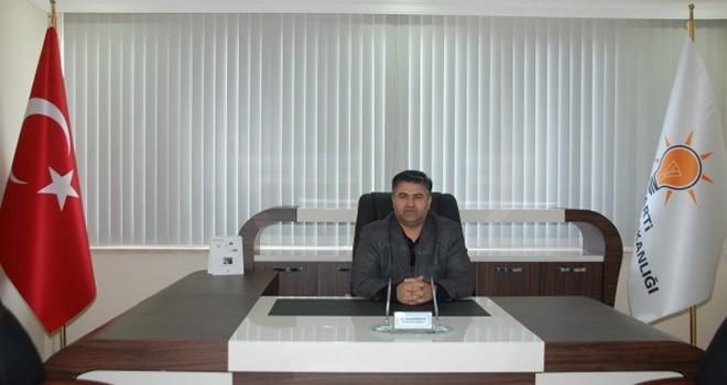 Kahramanmaraş'ta AK Parti Afşin İlçe Başkanı Şeref Kırbıyık istifa etti