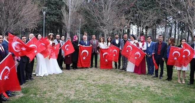 Başkan Mahçiçek, 14 Şubat'ta 30 çifti evlendirdi