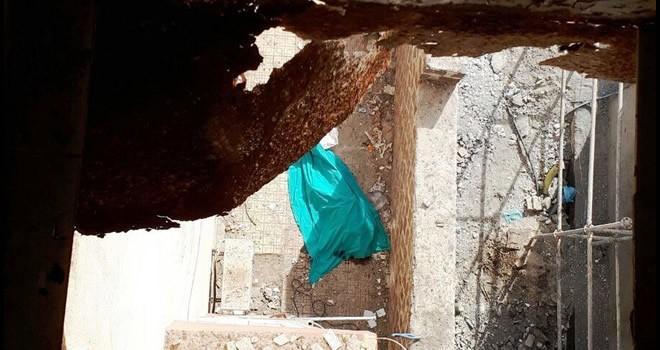 Kahramanmaraş'ta 4'üncü kattan düşen adam feci şekilde can verdi!