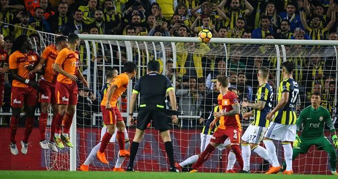 Fenerbahçe ile Galatasaray golsüz berabere kaldı