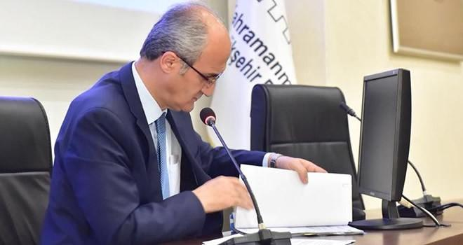 Dulkadiroğlu Belediyesi Ekim ayı meclis toplantısı yapıldı