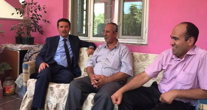 Başkan Okumuş'tan bayram boyunca 'Çat kapı' ev ziyaretleri