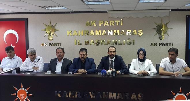 AK Parti Kahramanmaraş İl Başkanından 'istifalar' açıklaması