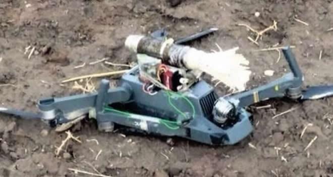 PKK'nın taktik bombalı drone yakalandı!
