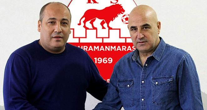 Kahramanmaraşspor'un yeni teknik direktörü Erdal Alparslan oldu