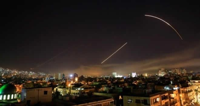 Düzenlenen saldırıda İran güçleri ve Hizbullah da vuruldu
