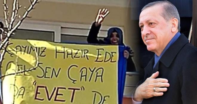Cumhurbaşkanı Erdoğan Kahramanmaraş'ta vatandaşın çay davetini kırmadı