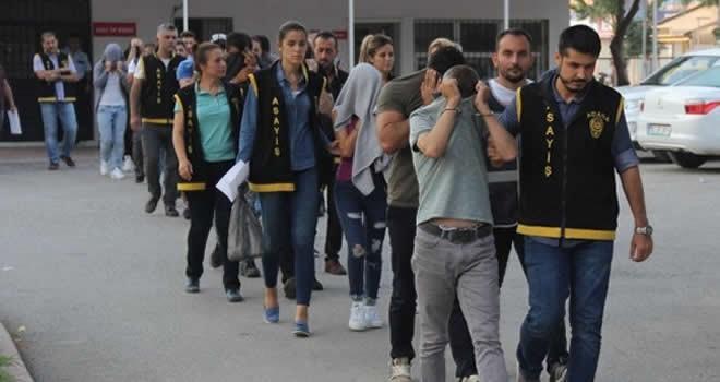 Adana merkezli 14 ilde eskort operasyonu!