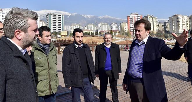 Başkan Erkoç: Kahramanmaraş iki büyük esere kavuşacak