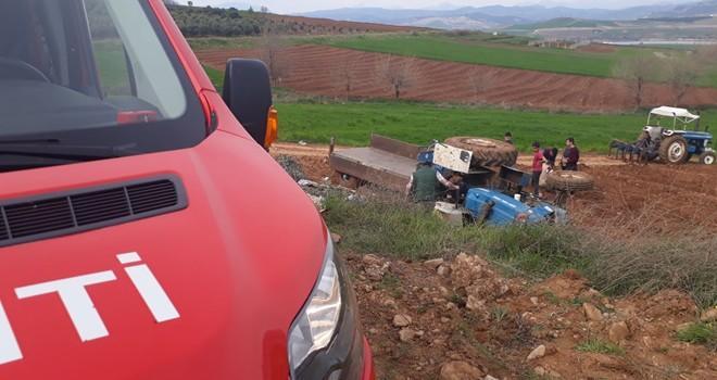 Kahramanmaraş'ta traktör kazası: 5 yaralı