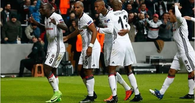 Beşiktaş 4 - Olympiakos 1 (Maç sonucu)