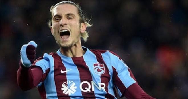 Çekişmeli maçta kazanan Trabzonspor