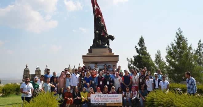 81 İl'in 81 genci Türkoğlu Belediyesinde bir araya geldi