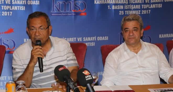 KMTSO Meclis Başkanı Hanefi Öksüz: 'Bizim kültürümüzde şahıslar değil kurumlar önemli'
