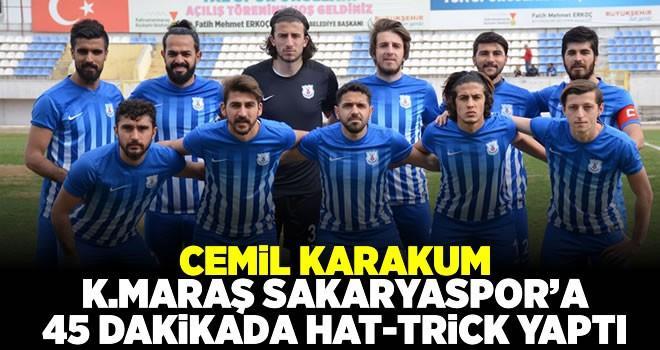 1920 Maraşspor-Kahramanmaraş Sakaryaspor maç sonucu: 3-0