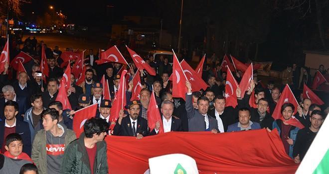 Türkoğlu Afrin için tek yürek oldu