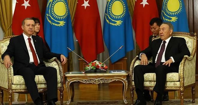 Erdoğan'dan Kazakistan'da 'FETÖ' mesajı!