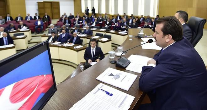Büyükşehir Belediye Meclisi'nde 4. oturum gerçekleşti