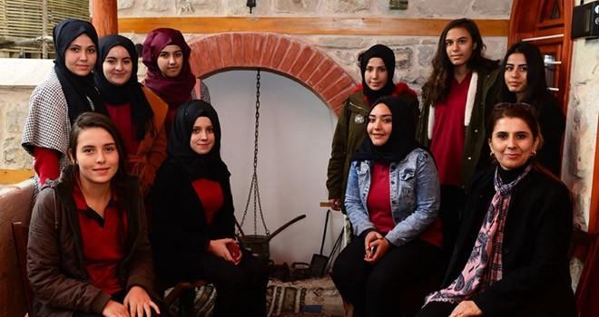 Genç aşçılardan Mutfak Müzesi'ne ziyaret
