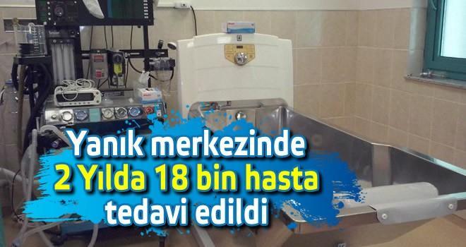 Yanık merkezinde 2 Yılda '18 bin hasta' tedavi edildi