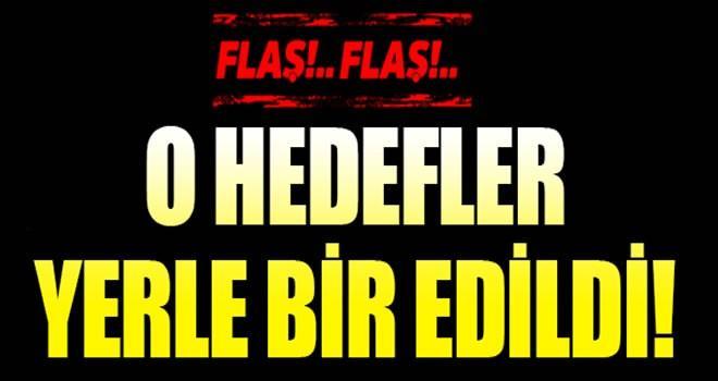 TSK'dan açıklama: PKK'nın o hedefleri yerle bir edildi!