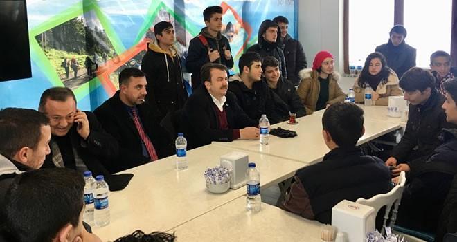Başkan Erkoç: Gençlerimiz geleceğimizin teminatıdır