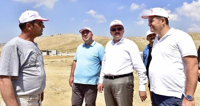 Başkan Erkoç: 'Amacımız daha güzel daha müreffeh ve daha yaşanılabilir bir Kahramanmaraş'