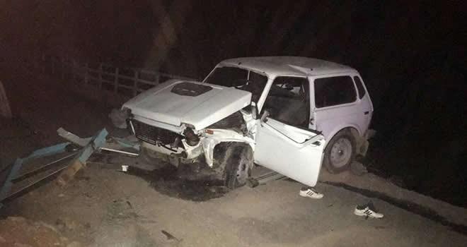Afşin'de arazi aracı kaza yaptı: 1 ölü, 3 yaralı