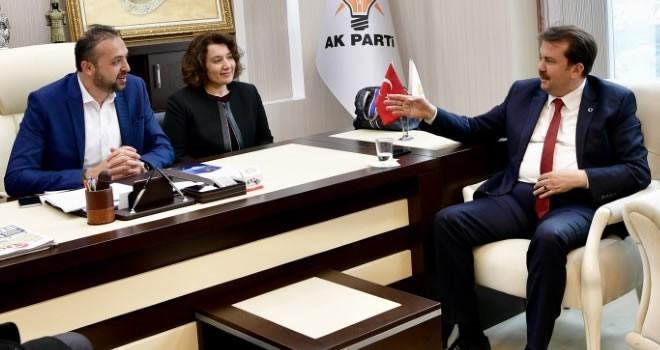 Başkan Erkoç, Elbistan'da AK parti Teşkilatını ziyaret etti